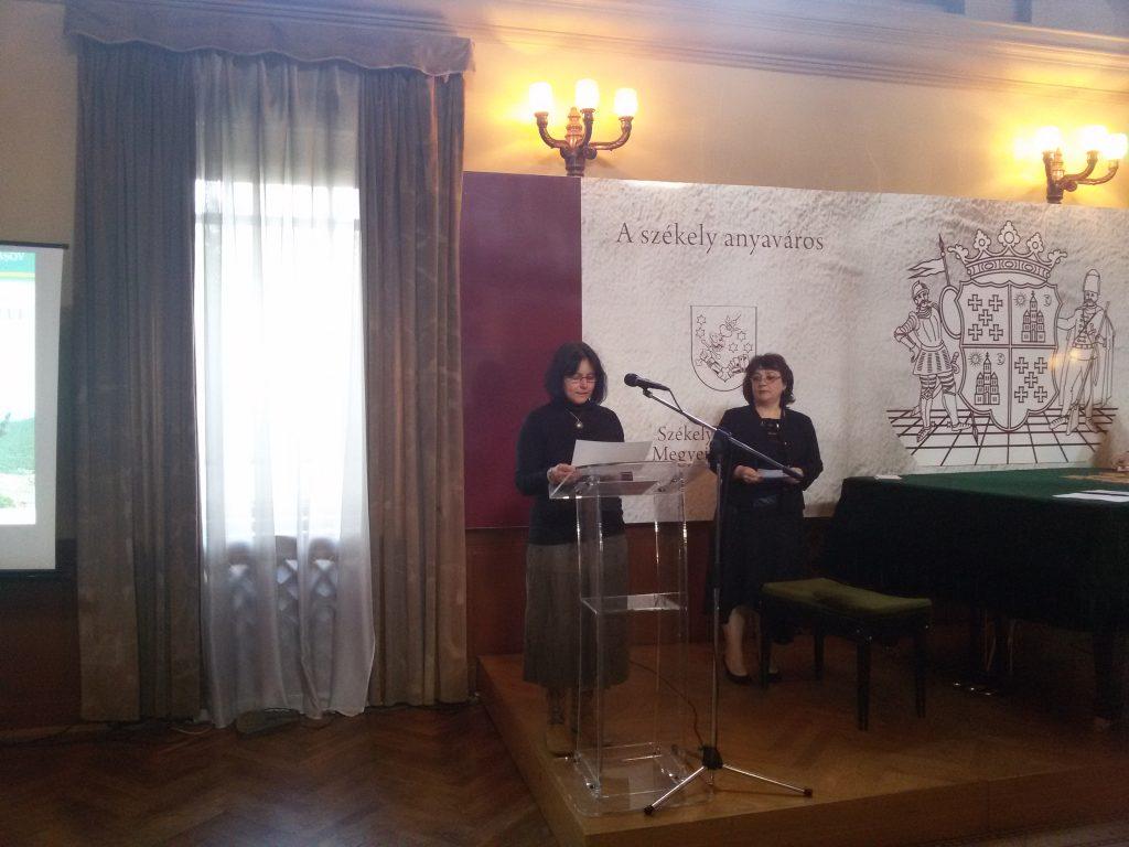 Prof. Dr. Ing. Camelia Coșereanu deschide lucrările Olimpiadei