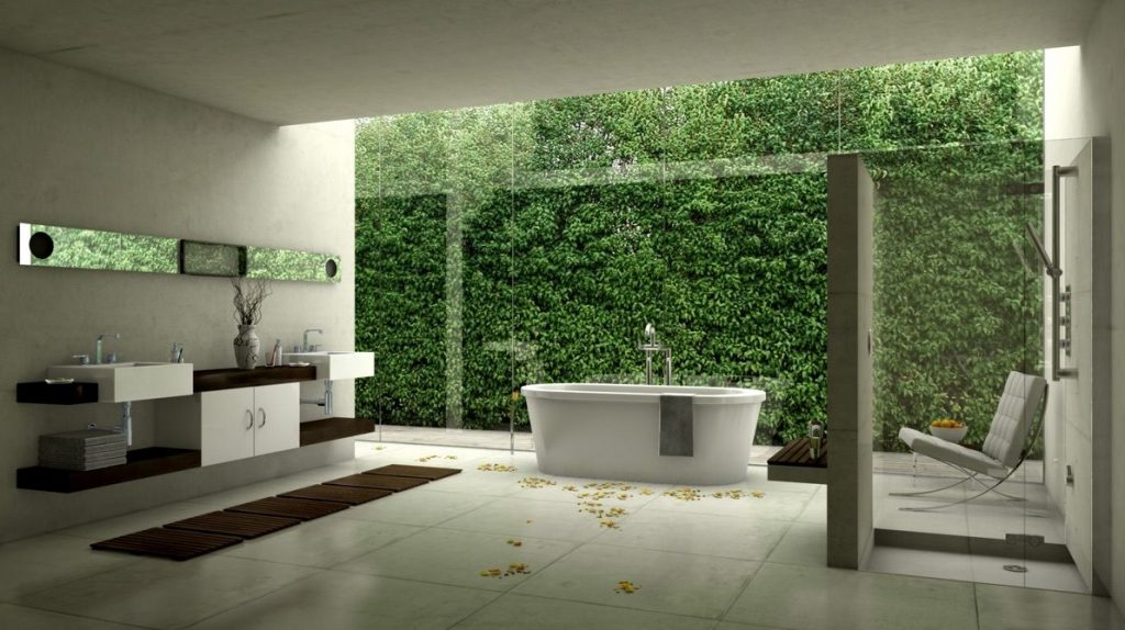 White-modern-bathroom-design