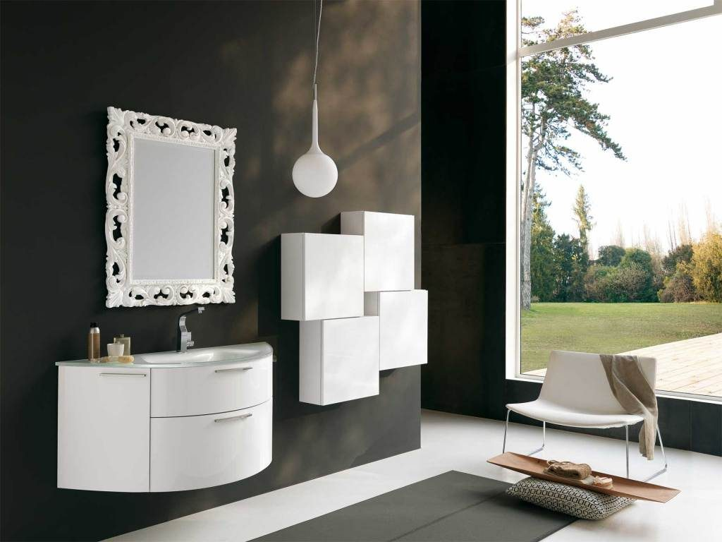white-framed-bathroom-mirrors-1024x768