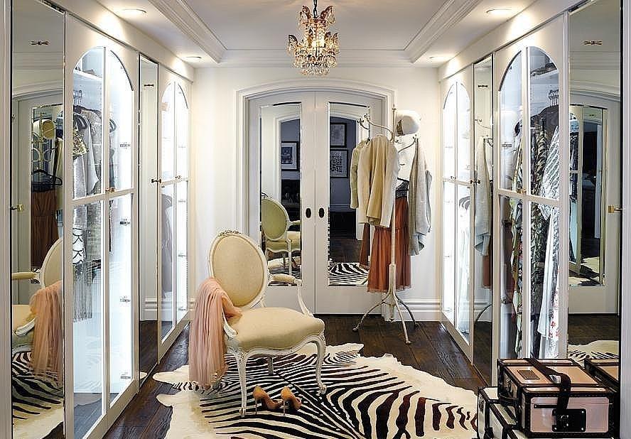 Lauren Conrad walk in closet