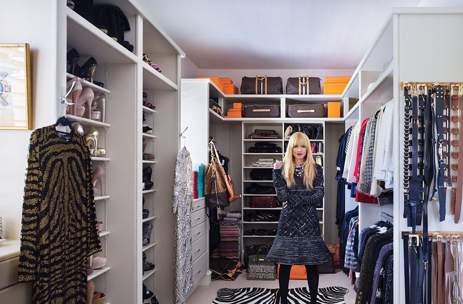 Rachel Zoe walk in closet