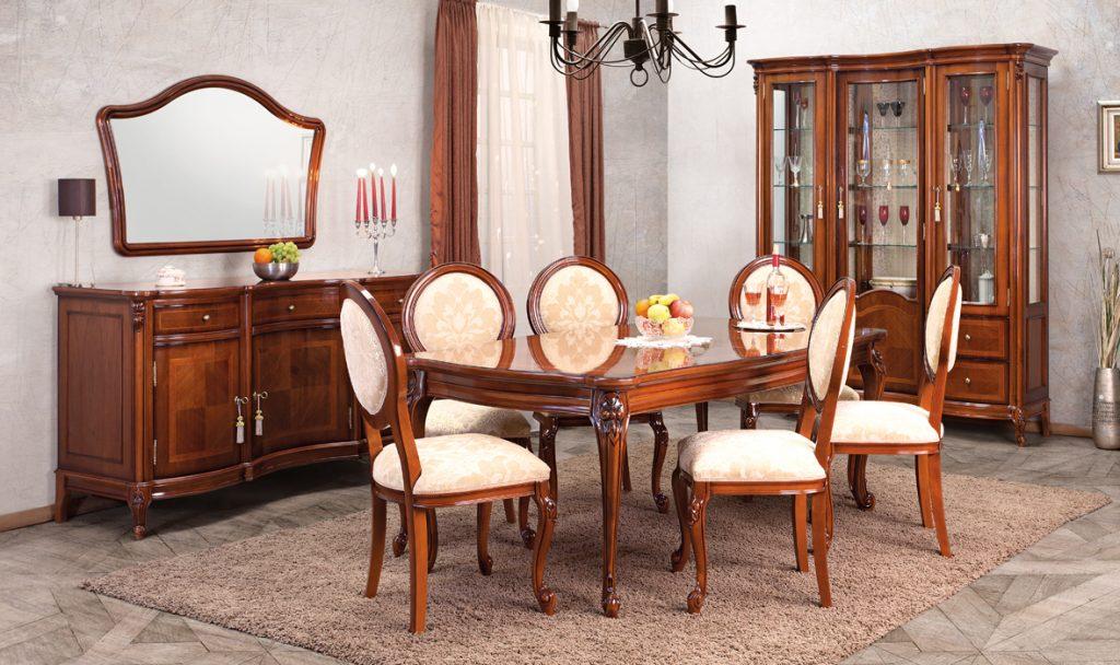 Mobila lemn masiv Simex Firenze - sufragerie - 1