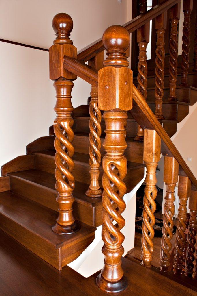 SPIRALWOOD scări balustrade lemn