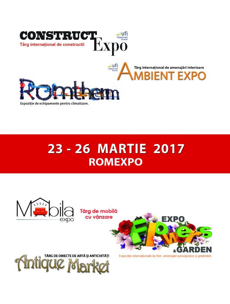 Vizual targuri Romexpo 23-26 martie