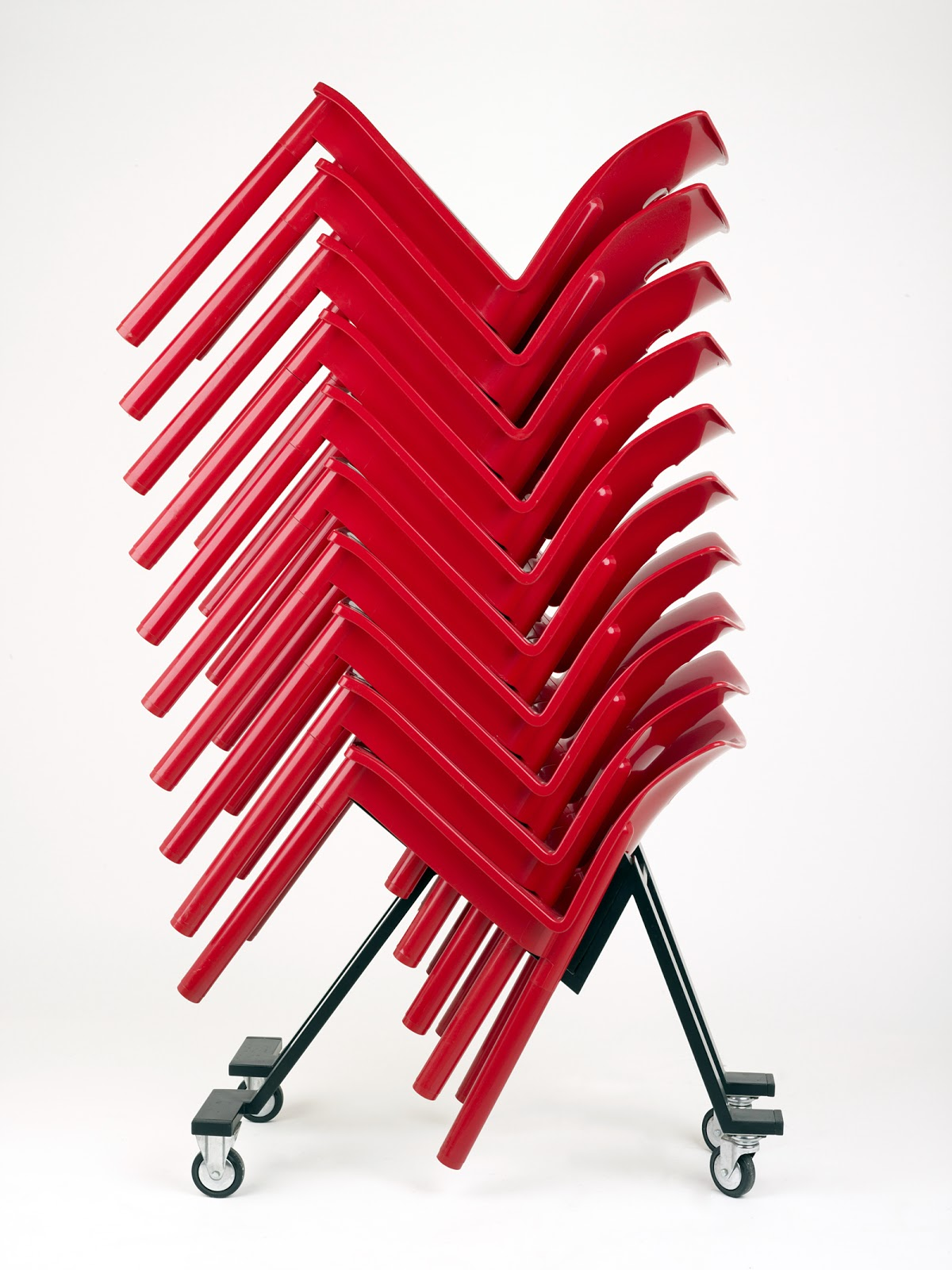 Stacking Chair - Anna Castelli-Ferrieri for Kartell
