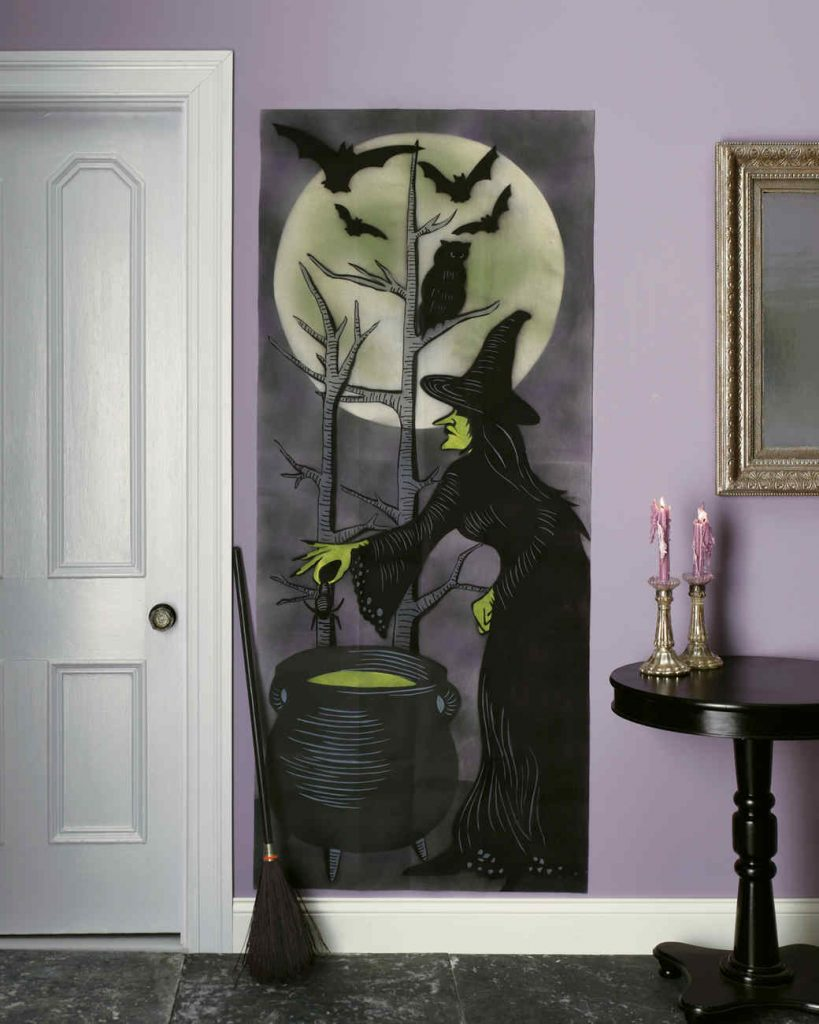 Decor de Halloween acasa a