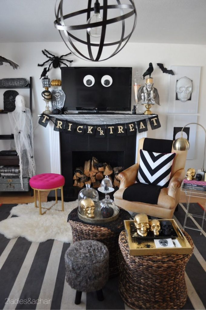 Decor de Halloween b