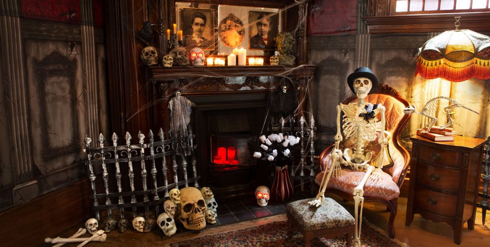Decor de Halloween pentru living room
