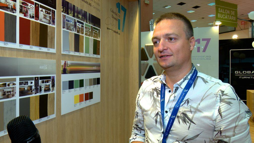 Gabriel Nimițan director vânzări GLOBAL DESIGN SUCEAVA