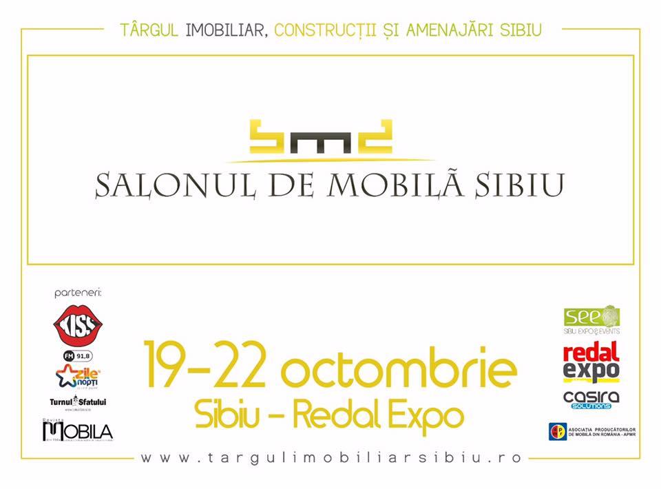 Salonul de Mobilă Sibiu 2017 afis