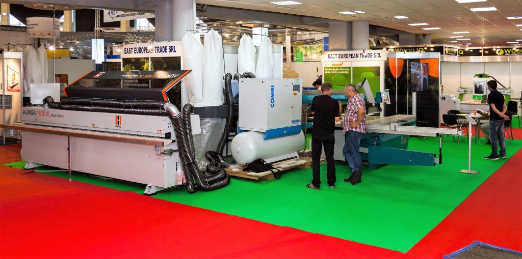 Atelierul smart EET pentru producția de mobilier este piesa de rezistență a EET - East European Trade și a partenerului extern, firma HOLZ-HER, pentru 2017.