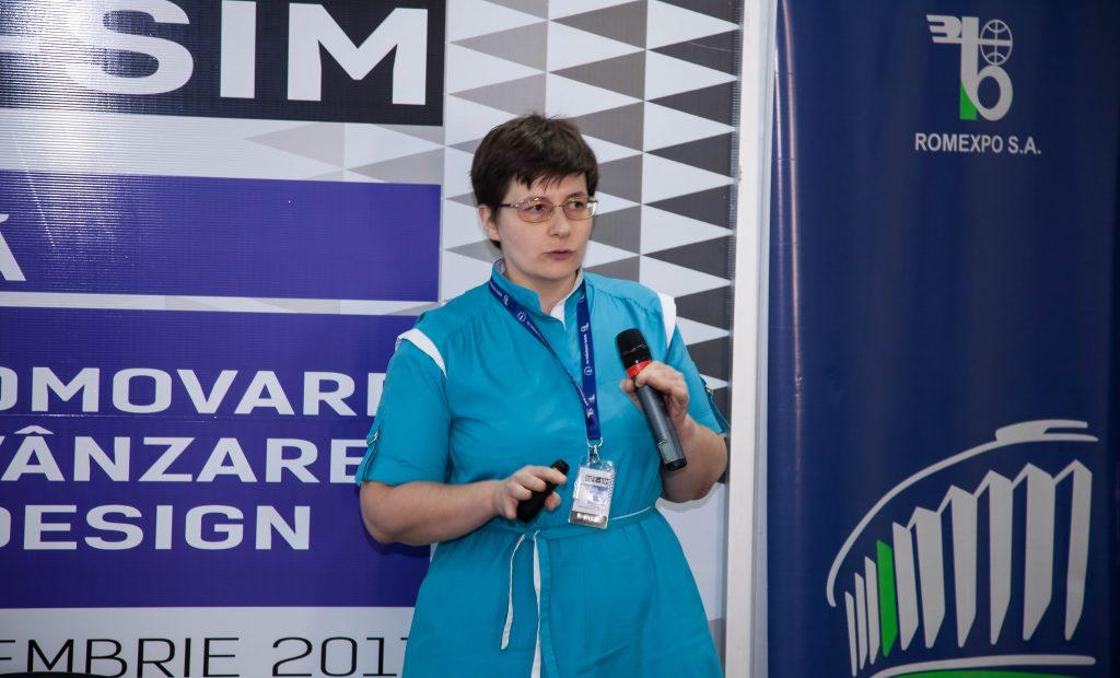 Andreea Paraschiv coordonator de proiect ErgoSign