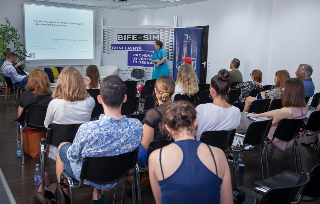 Conferinţa de design 2017 la Bife-Sim