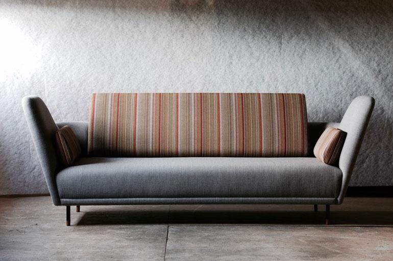 Design de mobilă la Festivalul de Design de la Londra 2017 canapea