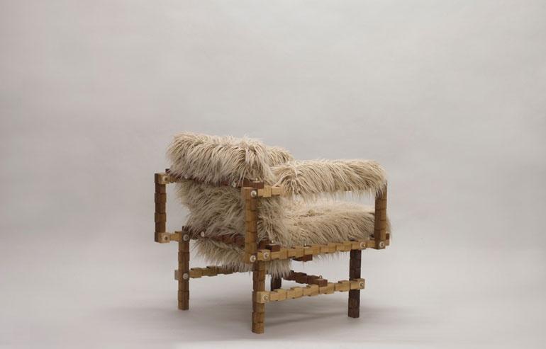 Design de mobilă la Festivalul de Design de la Londra 2017 scaun 2