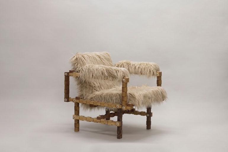Design de mobilă la Festivalul de Design de la Londra 2017 scaun