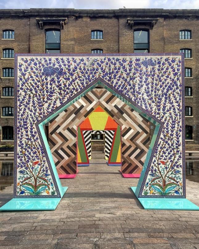 Intrarea in Festivalul de Design de la Londra 2017