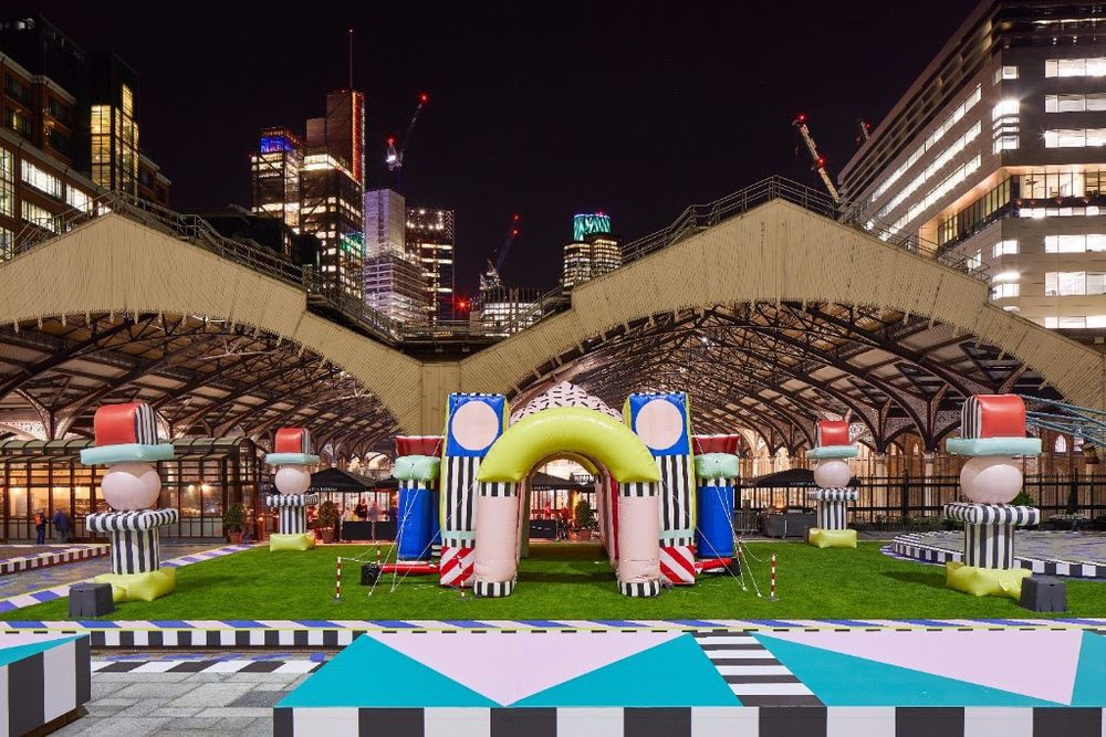 Noua generație Camille Walala Festivalul de Design de la Londra 2017 a