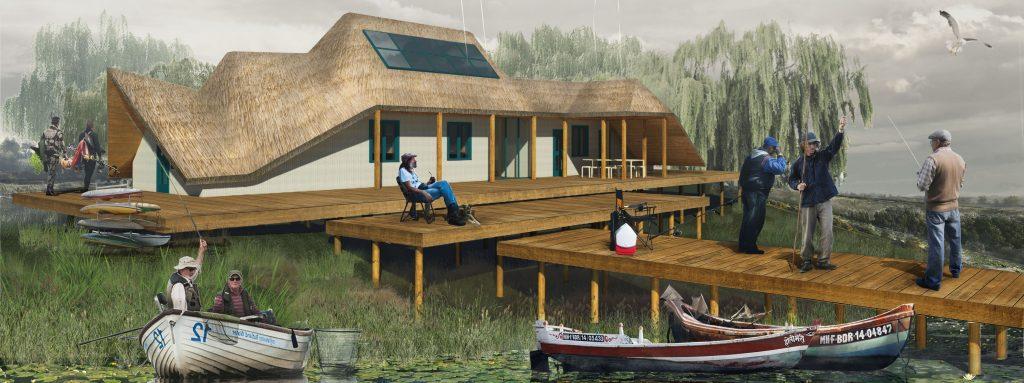 Voica Marius, House for fishermen
